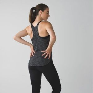 Lululemon What The Sport Singlet- Heathered Black